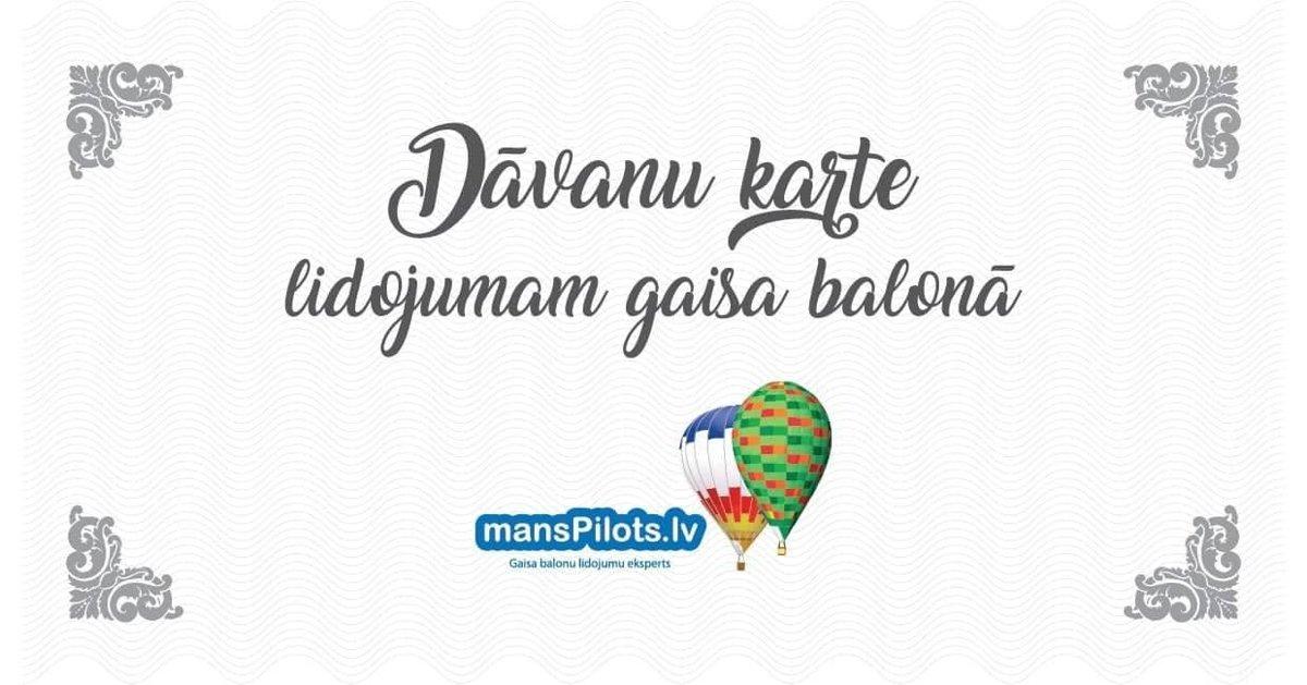 Lidojums gaisa balonā 2 personām - Sigulda, darba dienas