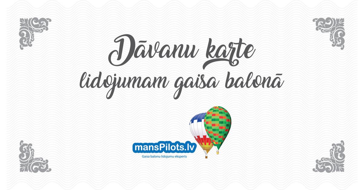 Lidojums gaisa balonā 1 personai - Sigulda, darba dienas